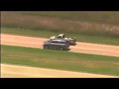 Houston Texas High Speed Police Chase Crazy Driver In Texas Truck (KHOU)