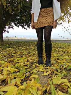 "NEW blog post: ""Falling For You""  Really love how the leaves look in these pictures.  here's the link: http://dollhouselucy.blogspot.com/2014/11/falling-for-you.html #fbloggers #style #fashion #fall #dollhouselucy"