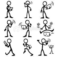 stick figures in action - Google Search