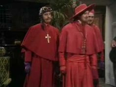 Monty Python - The Spanish Inquisition. Nobody expects The Spanish Inquisition