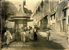 Quiosque da ladeira de Santa Teresa, Augusto Malta, 1911