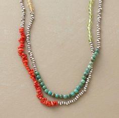 { Segments Necklace, from sundance catalog [$298] }
