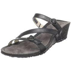 Teva Women`s Ventura Wedge Modoc Sandal,Black,10 M US $52.47