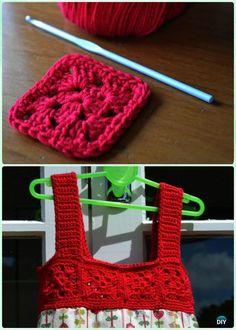 d5ff62c8c34 DIY Crochet Tutu Dress Bodice Free Patterns