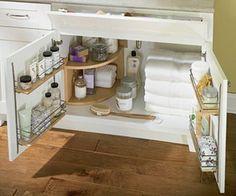 Bathroom Under Sink Storage organizer under bathroom sink | bedroom and living room image