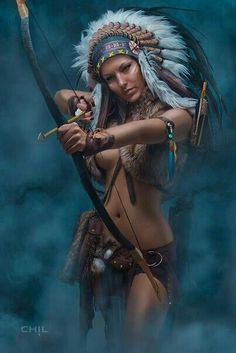 This is what I like to think I Resemble while shooting a bow