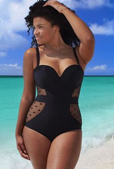 GabiFresh for Swim Sexy The Marchioness D/DD Underwire Swimsuit
