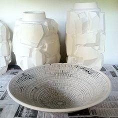 Bowl by @ceramicbianka #ceramics #porcelain #wip