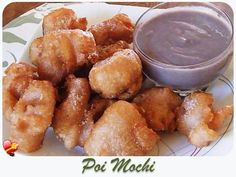 Delicious local style Poi Mochi Recipe. Get more Hawaiian food and local style recipes here.