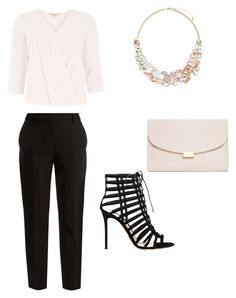 """Untitled #52"" by erikaelena23 on Polyvore featuring Billie & Blossom, MSGM, Gianvito Rossi, Mansur Gavriel and Accessorize"