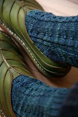 Primavera Socks pattern by natalja