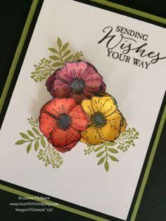 Stampin Up Amazing You Stamp Set Sale-a-bration Card - Rosanne Mulhern
