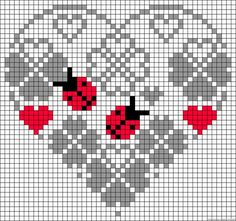 How To Make Alphabet Friendship Bracelets - Embroidery Patterns Cross Stitch Heart, Cross Stitch Cards, Beaded Cross Stitch, Cross Stitching, Cross Stitch Embroidery, Embroidery Alphabet, Embroidery Patterns, Cross Stitch Designs, Cross Stitch Patterns