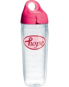 Finding the cure starts with hope. Tervis tumbler in #pink.