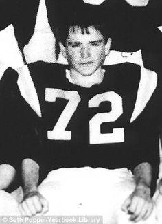Robin Williams Sophomore Year 1967..Detroit Country Day School, Birmingham, MI..JV Footbal...