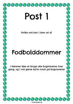thumbnail of danskløb fodbold Cooperative Learning, Bar Chart, Classroom, Education, Sprog, School, Kids, Babyshower, Birthday