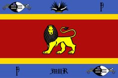 Royal Standard of Swaziland - Flag of Swaziland - Wikipedia, the free encyclopedia African Animals, Flags, April 19, Royals, Symbols, Birds, King, Space, Calamari