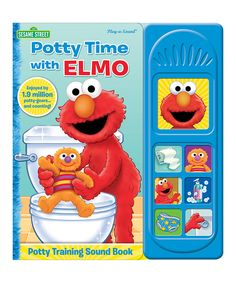 Look at this Potty Time With Elmo Sound Book on #zulily today!
