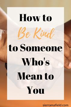 It can be insanely hard to be kind to someone who's mean to you, but it's really important that you are! Read this post to learn how. Love Others, Helping Others, Negative People, Emotional Healing, Stress Management, Hard Work, Self Care, Compassion, Bullying