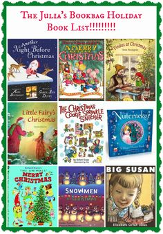 Julia's Bookbag: Julia's Bookbag Holiday Book List!!!