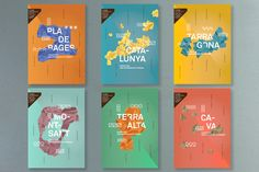 Catalan wines by toormix , via Behance