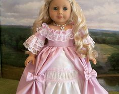 "PDF Sewing Pattern for 18"" American Girl Dolls /  ENCHANTED"