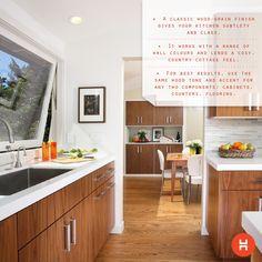 Walnut And White Quartz Kitchens Design Ideas Pictures Remodel Decor
