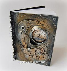 Steampunk Notebook Mechanic 1