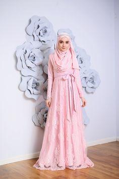 62 Ideas fashion dresses long stylists for 2019 Dress Brokat Muslim, Kebaya Muslim, Muslim Dress, Muslimah Wedding Dress, Hijab Style Dress, Muslim Wedding Dresses, Kebaya Dress, Dress Pesta, Muslim Women Fashion
