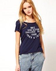 Nike Vintage Tshirt in Blue (navy)