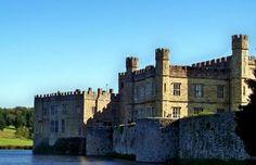 Leeds Castle in Maidstone, Kent in England