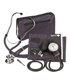 Take a look at this Black ProKit Blood Pressure Meter & Sprague Rappaport Stethoscope today!