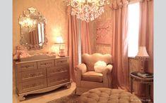 Bratt Decor baby furniture in a pink nursery