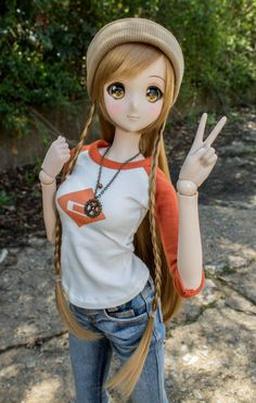 Mirai Suenaga Smart Doll by RazzyBJD