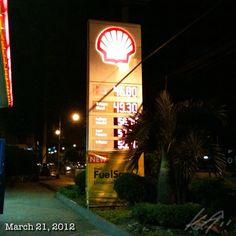 やっぱりここはPhp2近く安い? #gas #philippines