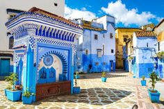 Marrakech, Tangier, Beautiful Places, Beautiful Pictures, Desert Tour, Morocco Travel, Visit Morocco, Blue City, Wall Canvas
