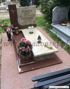 mpp631 Tombstone Designs, Cemetery Monuments, Grave Decorations, Baby Memories, Funeral, Flower Arrangements, Carving, Flowers, Doll Eyes