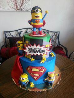 Minion super hero cakes - Google Search