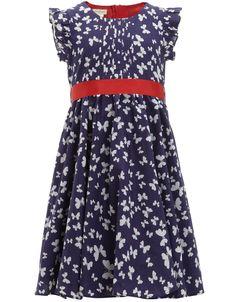 Butterfly Woven Dress