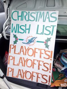 Miami Dolphins Christmas Wish! Hope they get another Super Bowl win in his lifetime! Dolphin Memes, Dolphin Quotes, Football Memes, Football Season, Football Stuff, Football Team, Miami Dolphins Funny, Super Bowl Wins, Dolphins Cheerleaders