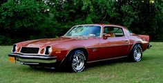 1975 Chevrolet Camaro. My 1975 Camaro. Purchased brand new on July 9, 1975 from Lou Awald Chevrolet. Kenmore, NY. (Now Paddock Chevrolet) Still has the Original Factory Paint GM Code #64, Medium Orange Metallic and has 38,700 miles on it.
