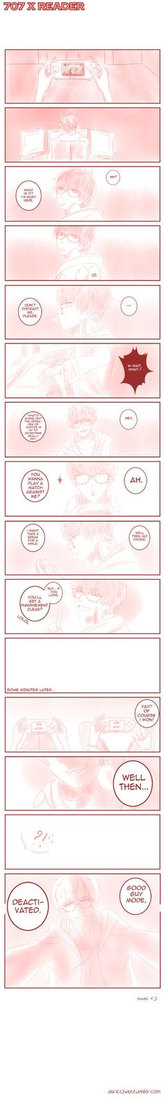 707 x Reader by Airicchan on DeviantArt