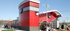 Whether you're a franchise or non-branded operator, Tommy Car Wash Systems has proven, patented building models to suit your needs. Garage Design, Roof Design, Interior Car Wash, Express Car Wash, Car Wash Systems, Menu Signage, Automatic Car Wash, Tower House, Roofing Systems