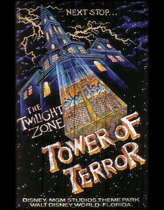 Vintage and Retro Disney Wood Art Tower of Terror gift memory MGM Studios Disneyland Vintage, Vintage Disney Posters, Vintage Cartoon, Disneyland Paris, Old Disney, Disney Love, Disney Gift, Disney Theme, Disney Wallpaper