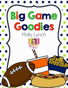 Are You Ready for a Freebie? Big Game Goodies {FREEBIE}
