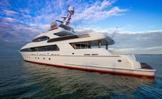 Usher is the ultimate sport yacht graced with a refined elegance. Like a private retreat on the water, she boasts vast outdoor spaces, an exquisite beach club and an unrivaled audio/visual system that makes her perfectly suited for entertaining family or friends.