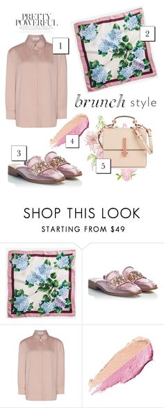 """Selamat hari ibu! #nude"" by handlewithlove ❤ liked on Polyvore featuring Dolce&Gabbana, RAS, By Terry and Kendall + Kylie"