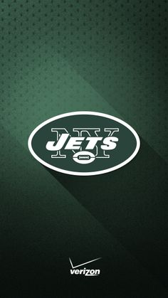 Show your loyalty to the New York Jets with this green and white smartphone wallpaper from Verizon Wireless.