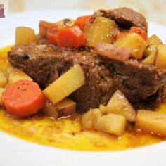 Easy to prepare. This pot roast boasts loads of flavor that all the family will enjoy. - El Carrizal Pot Roast (Cacerola El Carrizal)