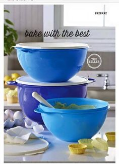 Thatsa bowls are on sale for a brief time! Contact me to get yours. Www.my.tupperware.com/crystalmason